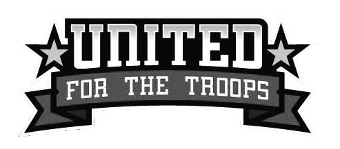 united for the troops logo black